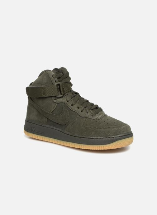 new product fddde 2a0ee Trainers Nike Air Force 1 High Lv8 (Gs) Green detailed view  Pair view