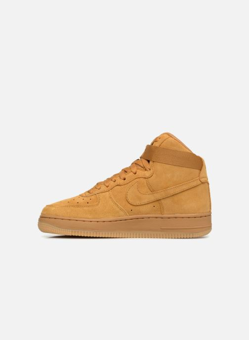 Sneakers Nike Air Force 1 High Lv8 (Gs) Brun bild från framsidan