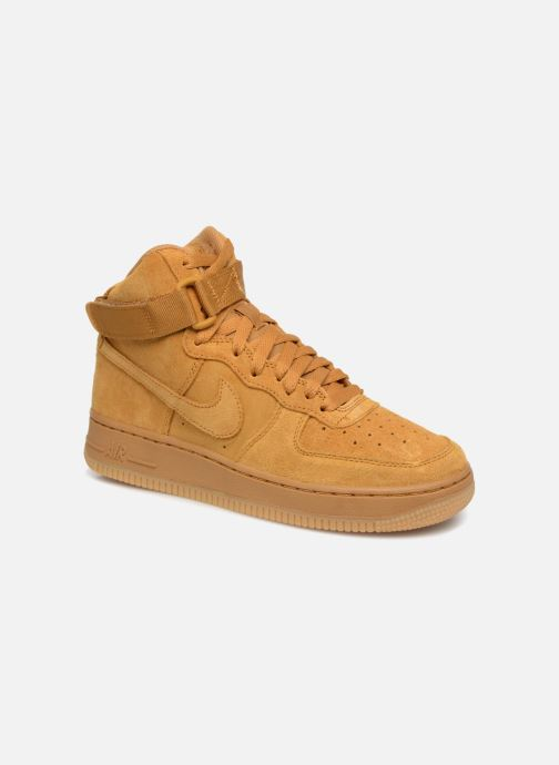 the latest 93e02 8ddf2 Baskets Nike Air Force 1 High Lv8 (Gs) Marron vue détailpaire