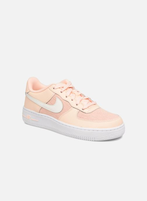 6d831d3f4647a1 Trainers Nike Air Force 1 Lv8 (Gs) Pink detailed view  Pair view