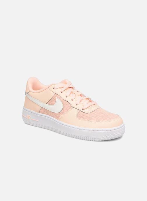 online store 288e9 0b72a Sneakers Nike Air Force 1 Lv8 (Gs) Rosa detaljerad bild på paret
