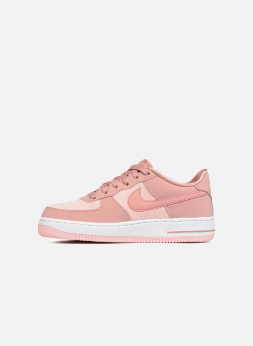Trainers Nike Air Force 1 Lv8 (Gs) Pink front view