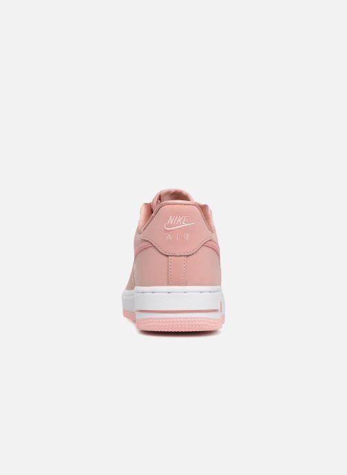 Trainers Nike Air Force 1 Lv8 (Gs) Pink view from the right