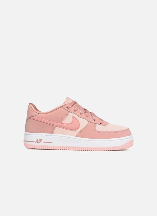 finest selection a45e1 f61bd Baskets Nike Air Force 1 Lv8 (Gs) Rose vue derrière