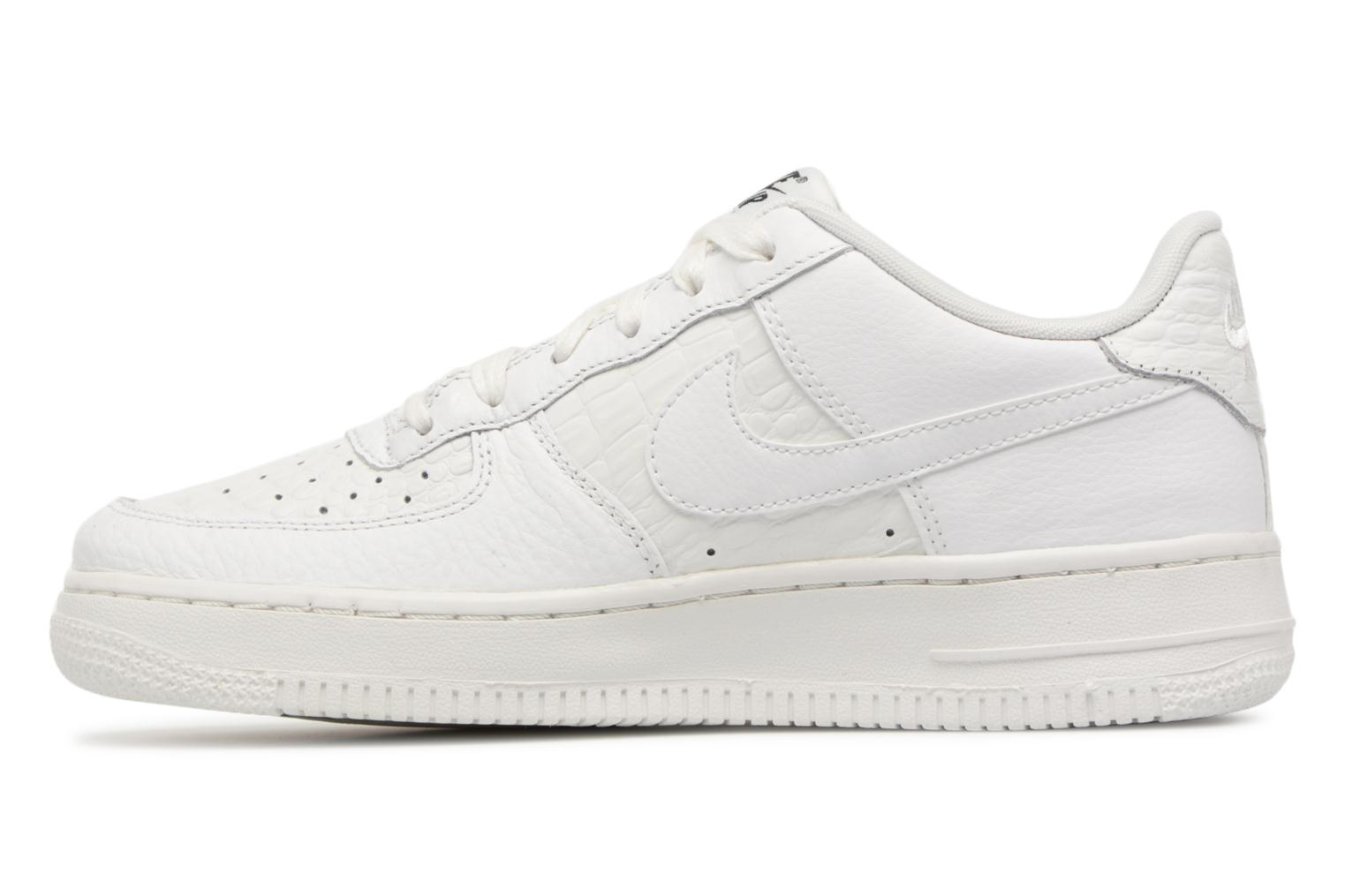 Baskets Nike Air Force 1 Lv8 (Gs) Blanc vue face