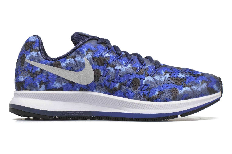 Baskets Nike Nike Zoom Pegasus 33 Print Gs Bleu vue derrière