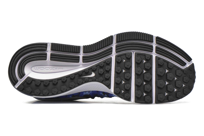 Baskets Nike Nike Zoom Pegasus 33 Print Gs Bleu vue haut