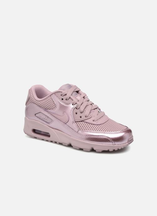 size 40 d30a1 10654 Trainers Nike Nike Air Max 90 Se Ltr (Gs) Pink detailed view Pair