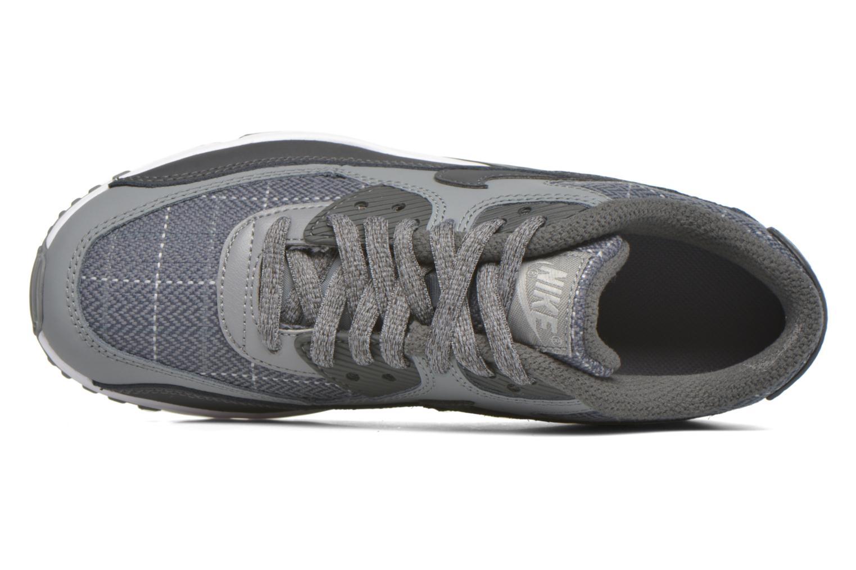 Baskets Nike Nike Air Max 90 Se Ltr (Gs) Gris vue gauche