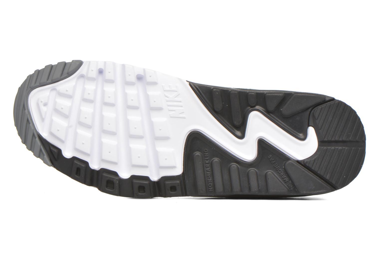 Baskets Nike Nike Air Max 90 Se Ltr (Gs) Gris vue haut