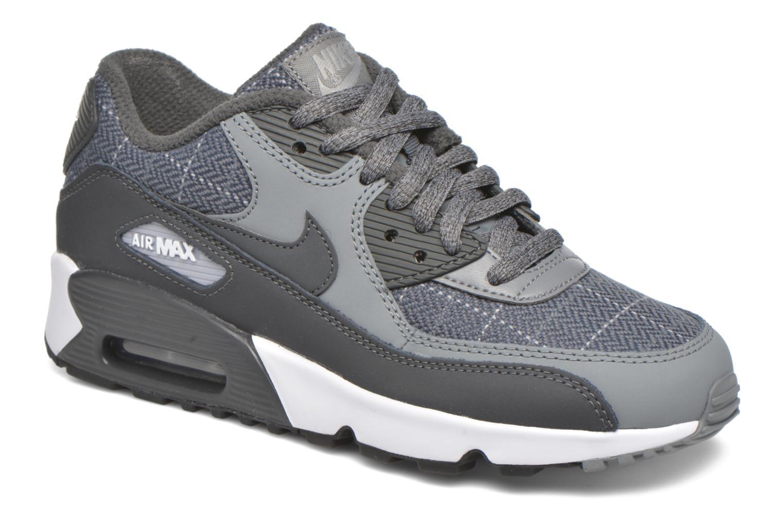 Baskets Nike Nike Air Max 90 Se Ltr (Gs) Gris vue détail/paire
