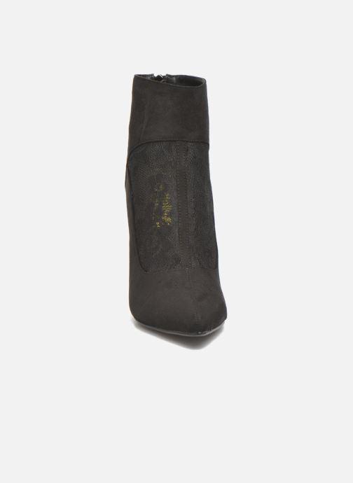 Bottines et boots Molly Bracken Rosie Noir vue portées chaussures