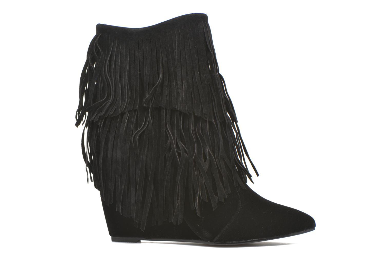 Bottines et boots Molly Bracken Rosana Noir vue derrière