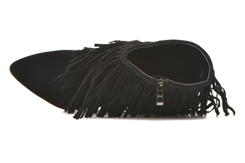 Bottines et boots Molly Bracken Rosana Noir vue gauche