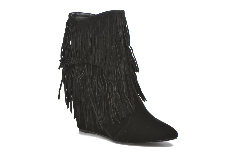 Bottines et boots Molly Bracken Rosana Noir vue détail/paire
