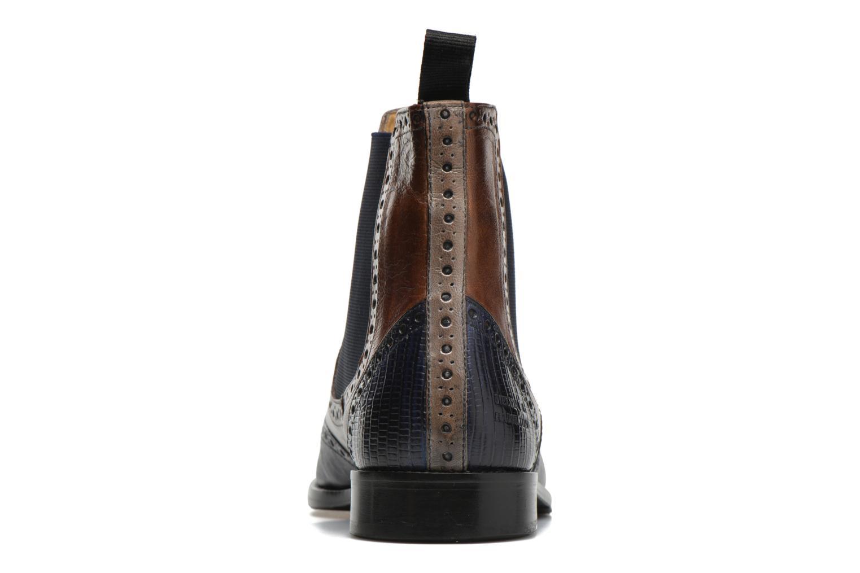 Bottines et boots Melvin & Hamilton Martin 5 Bleu vue droite