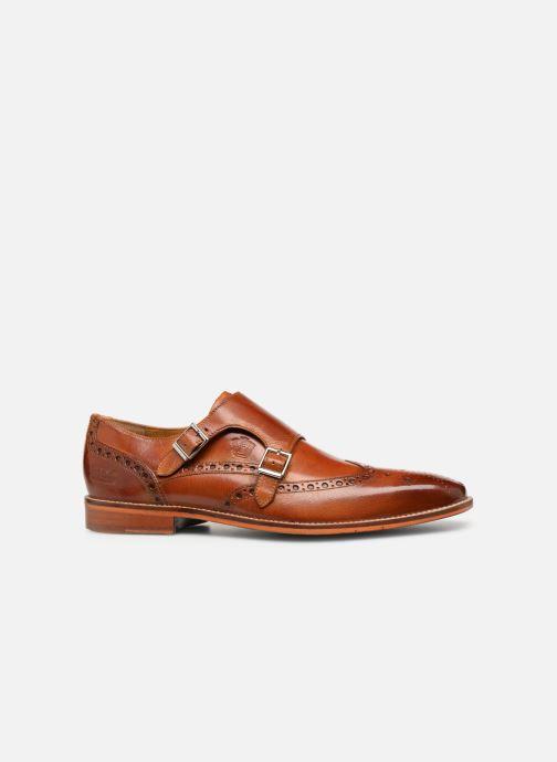Schuhe mit Schnallen Melvin & Hamilton Martin 2 braun ansicht von hinten