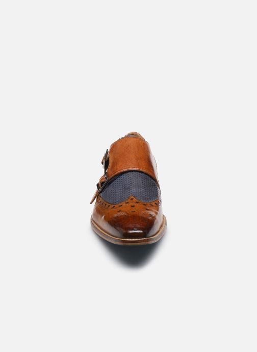 Zapato con hebilla Melvin & Hamilton Martin 2 Marrón vista del modelo