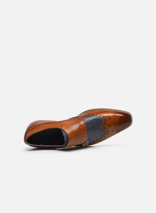 Zapato con hebilla Melvin & Hamilton Martin 2 Marrón vista lateral izquierda