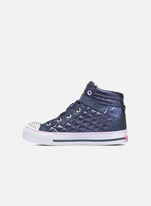 Sneaker Skechers Shuffles Sweetheart Sole blau ansicht von vorne