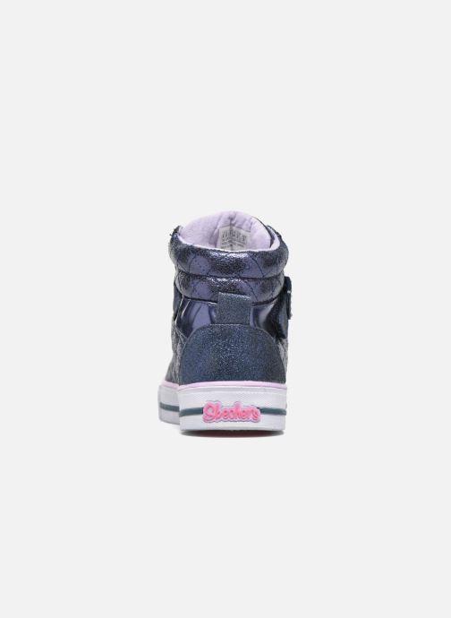 Sneaker Skechers Shuffles Sweetheart Sole blau ansicht von rechts
