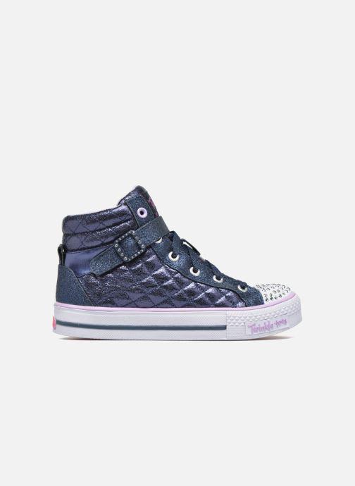 Sneaker Skechers Shuffles Sweetheart Sole blau ansicht von hinten