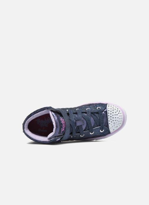 Sneaker Skechers Shuffles Sweetheart Sole blau ansicht von links