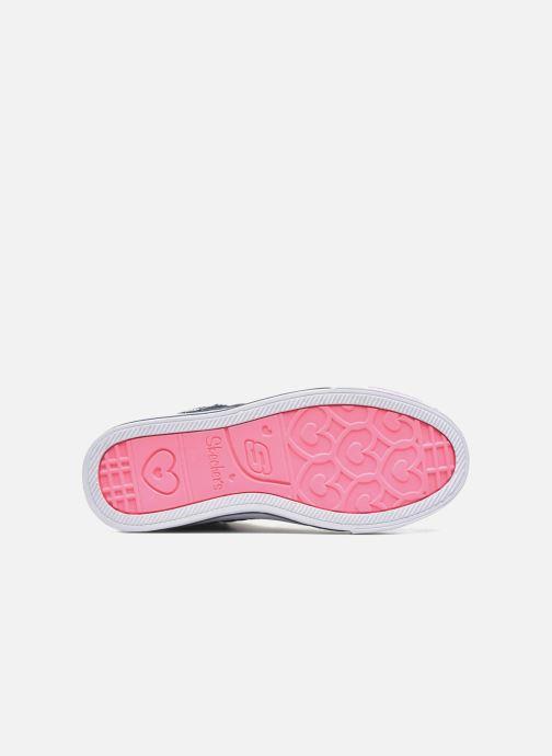 Sneaker Skechers Shuffles Sweetheart Sole blau ansicht von oben