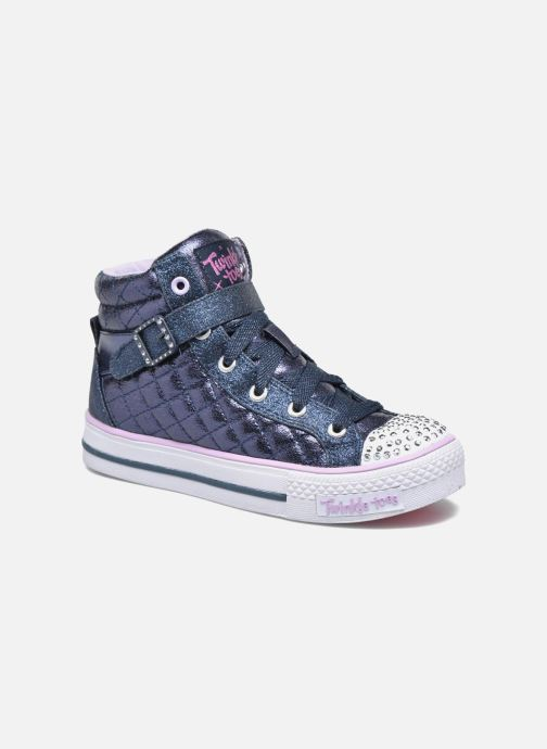 Trainers Skechers Shuffles Sweetheart Sole Blue detailed view/ Pair view