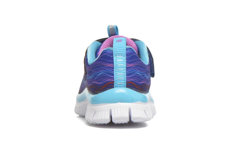 Sneaker Skechers Skech Appeal Sittin' Pretty blau ansicht von rechts