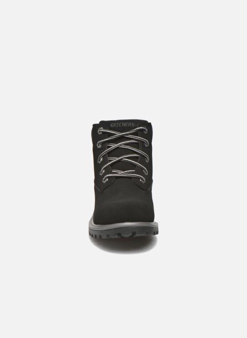 Bottines et boots Skechers Mecca Mitigate Noir vue portées chaussures