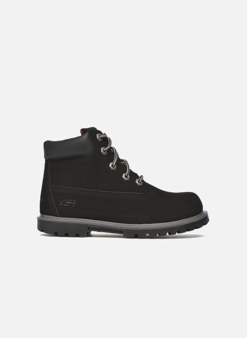Ankle boots Skechers Mecca Mitigate Black back view