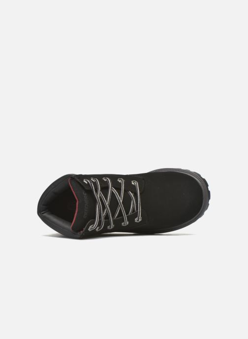 Ankle boots Skechers Mecca Mitigate Black view from the left