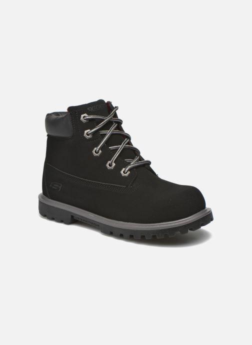 Bottines et boots Skechers Mecca Mitigate Noir vue détail/paire