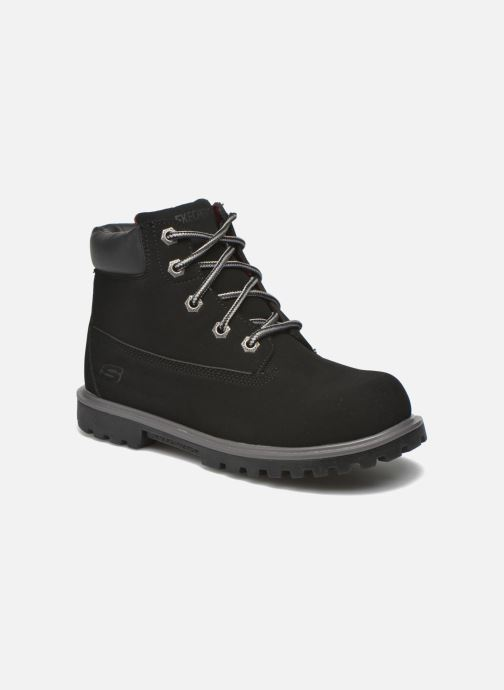 Stiefeletten & Boots Skechers Mecca Mitigate schwarz detaillierte ansicht/modell