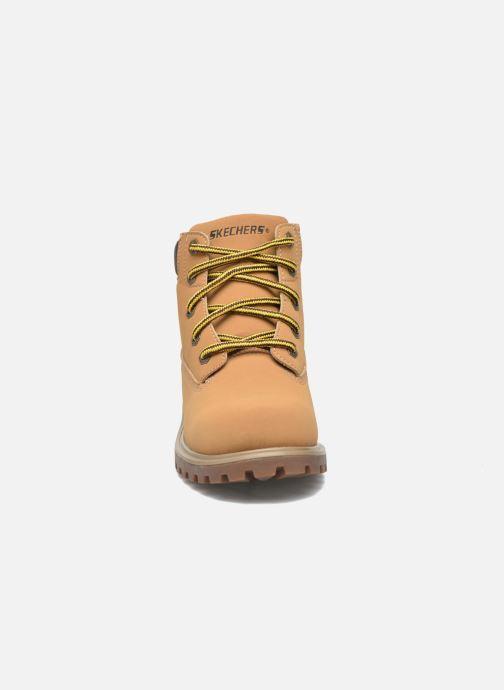 Boots en enkellaarsjes Skechers Mecca Mitigate Beige model