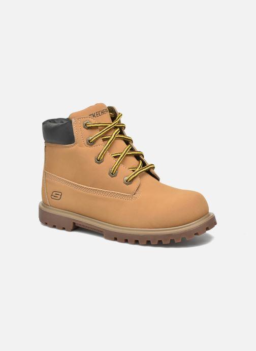 Boots en enkellaarsjes Skechers Mecca Mitigate Beige detail