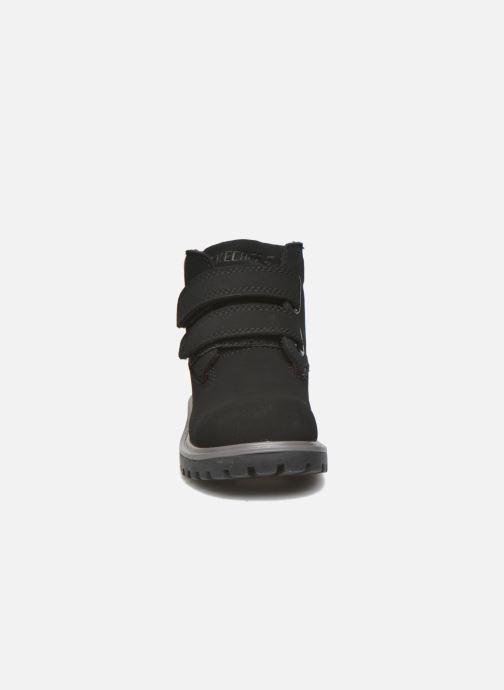 Bottines et boots Skechers Mecca Brazenly Noir vue portées chaussures