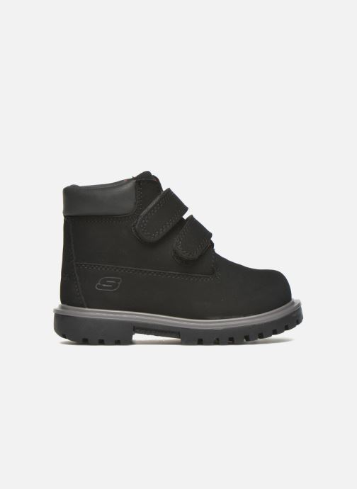 Bottines et boots Skechers Mecca Brazenly Noir vue derrière