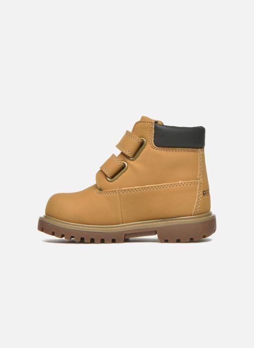 Boots en enkellaarsjes Skechers Mecca Brazenly Beige voorkant