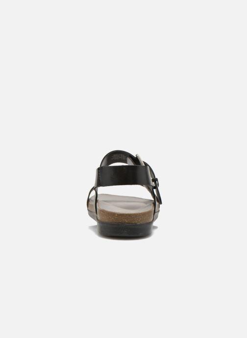 Sandales et nu-pieds Rockport Romilly Buckled Noir vue droite