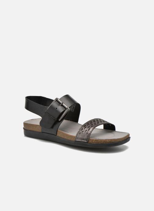 Sandales et nu-pieds Rockport Romilly Buckled Noir vue détail/paire