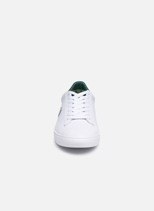 Baskets Fred Perry Spencer Leather Blanc vue portées chaussures