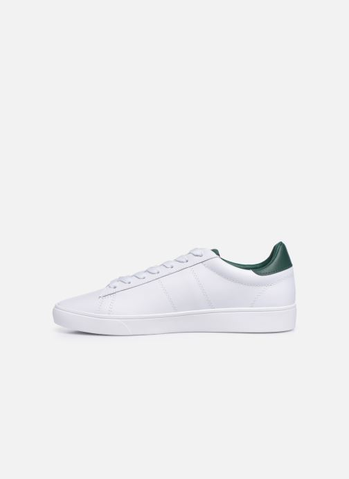Baskets Fred Perry Spencer Leather Blanc vue face
