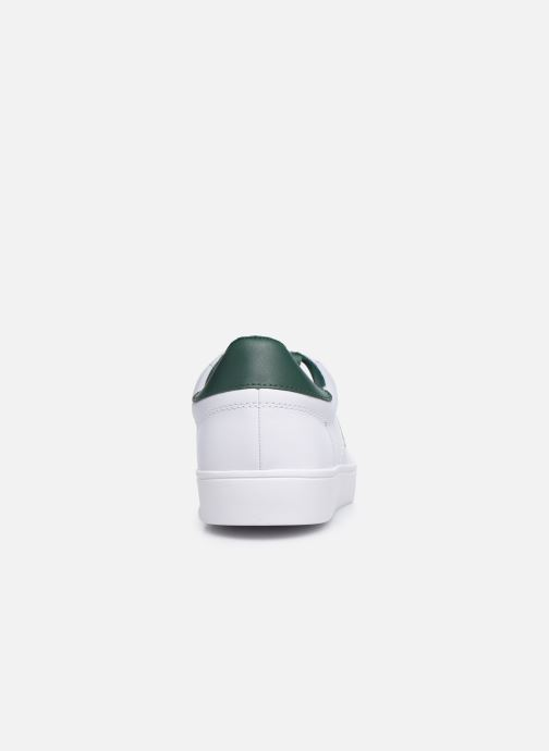 Baskets Fred Perry Spencer Leather Blanc vue droite
