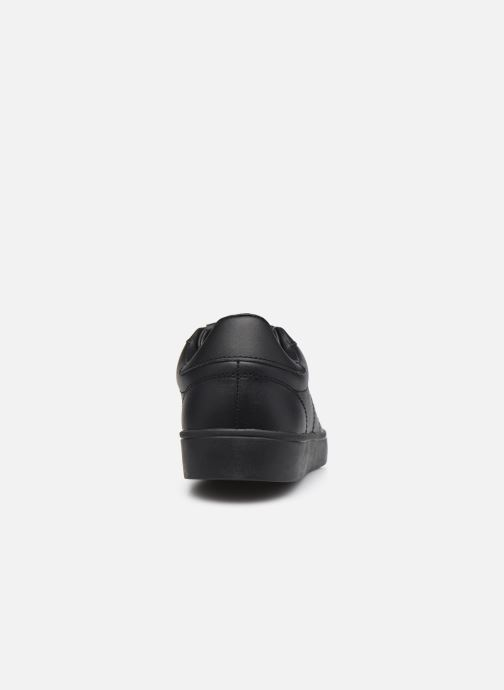 Baskets Fred Perry Spencer Leather Noir vue droite
