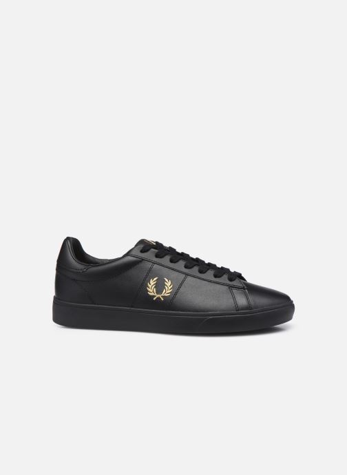 Baskets Fred Perry Spencer Leather Noir vue derrière