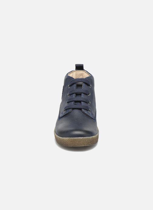 Chaussures à lacets Naturino Falcotto 1196 Bleu vue portées chaussures