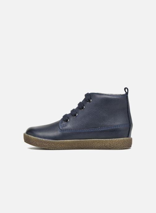 Chaussures à lacets Naturino Falcotto 1196 Bleu vue face