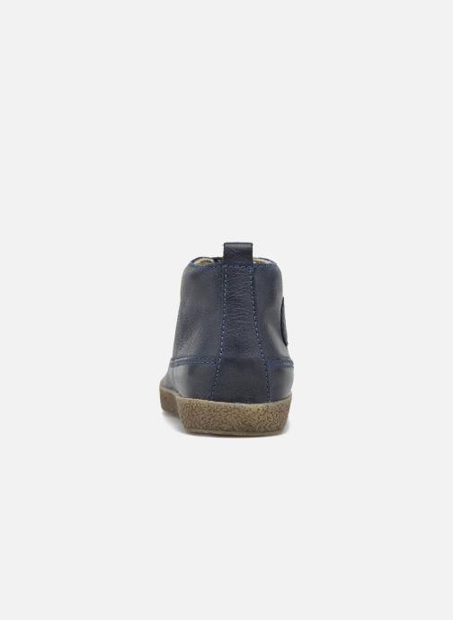Chaussures à lacets Naturino Falcotto 1196 Bleu vue droite